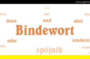 Bindewort oder Konjunkiton - spójnik