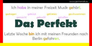 Perfekt - czas przeszły Perfekt