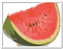 die Wassermelone - arbuz