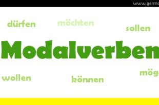 Modalverben - czasowniki modalne