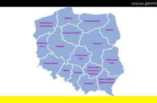 Woiwodschaften Polens - Polskie Województwa