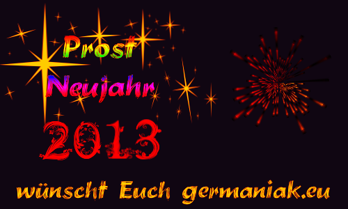 Prost Neujahr 2013