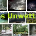 das Unwetter