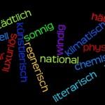 Adjektivbildung