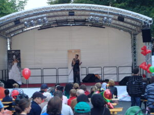 Turmstraßenfest Bühne