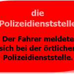 die Polizeidienststelle
