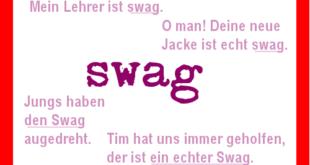 Jugendsprache: swag