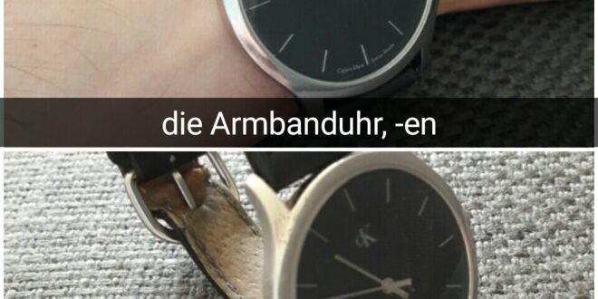 die Armbanduhr