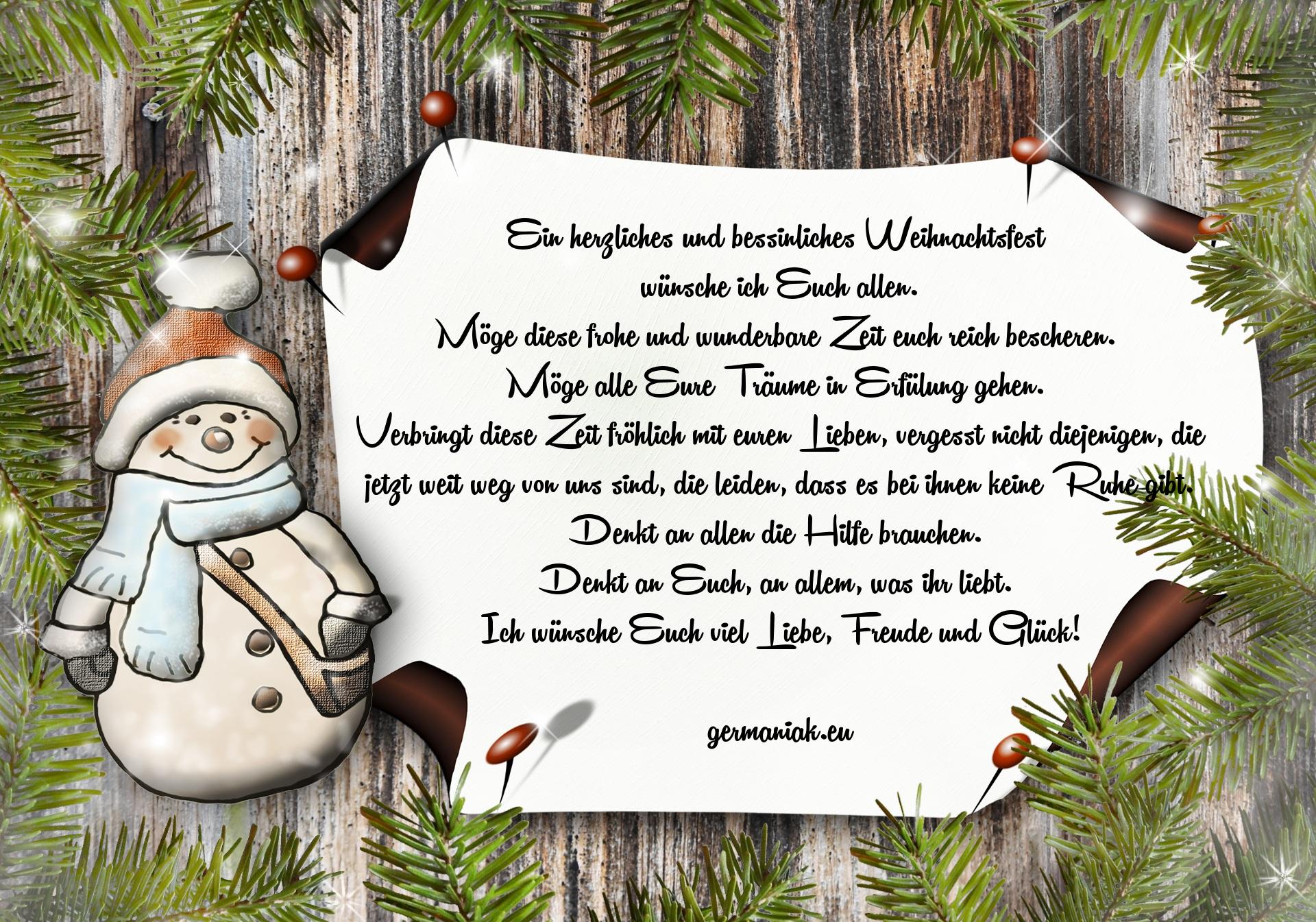 24 Weihnachtswünsche.Weihnachtswünsche Germaniak Eu