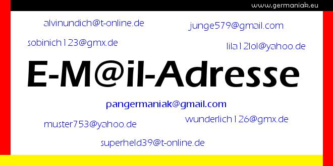 meine e-mail-adresse