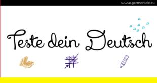 Teste dein Deutsch!